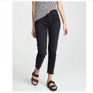 Agolde Jamie jeans in black